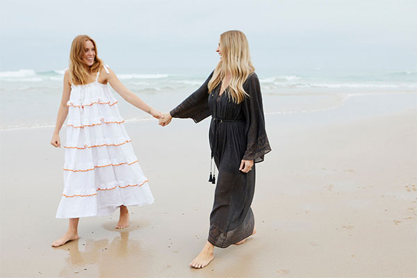HOW TWO SISTERS REINVENTED THE BEACH TOWEL