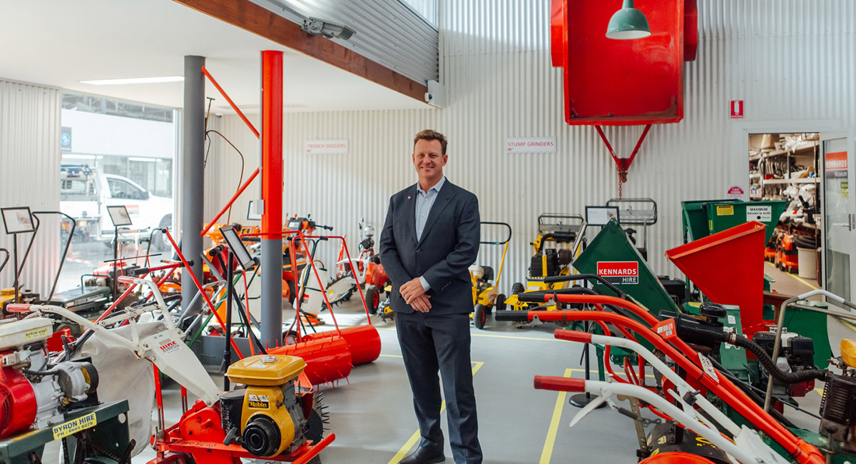 EQUIPMENT COMPANY KENNARDS HIRE, PIVOT TO ALSO BECOME LEADERS IN TECHNOLOGY