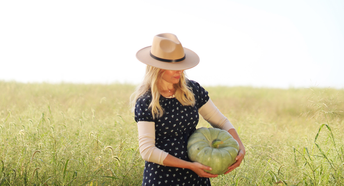 AMERICA'S PUMPKIN QUEEN, PLANTING THE SEEDS FOR A BRIGHTER TOMORROW…